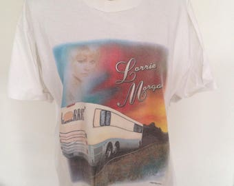 Vintage Lorrie Morgan 1997 Country Music Tshirt