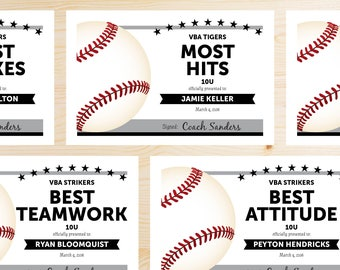Baseball certificate etsy for Baseball certificate ideas