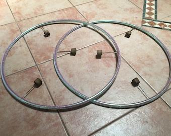3 Wick Isolation Fire Hoops (Set)