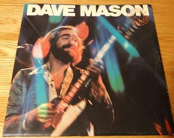 Vintage 1976 Dave Mason Certified Live Vinyl Record Album Rock Guitar