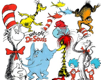 Best collection of 74 Dr. SEUSS clipart - 74 high quality Dr. SEUSS CLIPART - 74 Dr. Seuss Graphics !!! - Hats Off Dr Seuss - The Lorax
