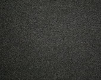 """Black Felt Fabric 72"""" Wide Per Yard"""