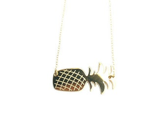 golden necklace pineapple-Splendor beach