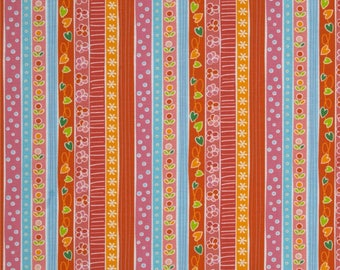 Sweet Dreams Orange: Quiet Time by Tamara Kate - 1 Yard Cut