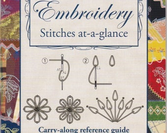 Hand Embroidery Stitches at-a-glance - Softcover Book