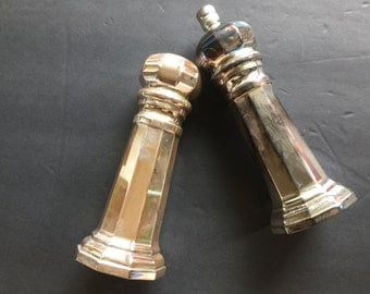 Vintage Sheffield SilverPlate Salt and Pepper Italy