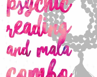 Psychic Reading and Magical Energy Mala Combo