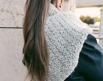 Crochet PATTERN-Griddle Scarf
