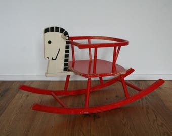 SUMMER SALE 30% OFF!!  Childrens toy furniture - kids rocking horse