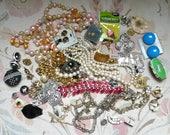 Jewelry Destash-Vintage Necklaces/Bracelets/Pendants-Over 1.5 lbs