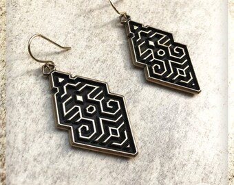 On Sale Dreamayan Bronze W'ayra Talisman Earrings