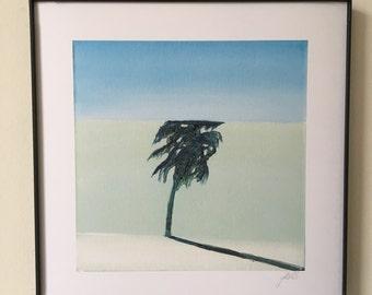 Keep Palm Framed Print