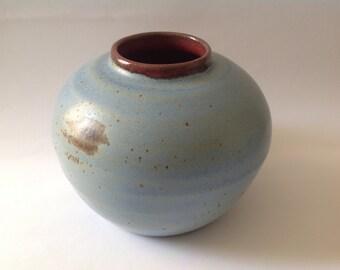 Beach Blue Touch Stone Vase - Let Go