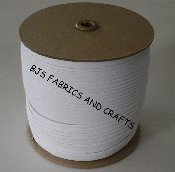 White Extra Wide Double Fold 1/2 Bias Tape Wholesale 75