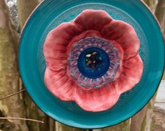 Glass Garden Flower-Poppy-Garden Whimsy
