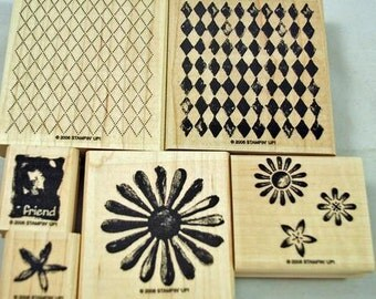 Retired Stampin' Up Stamp Set, Looks Like Spring
