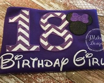 Disney-Inspired Birthday Shirt - 16th - 21st - 40th - 50th - 60th - Custom Birthday Tee 801