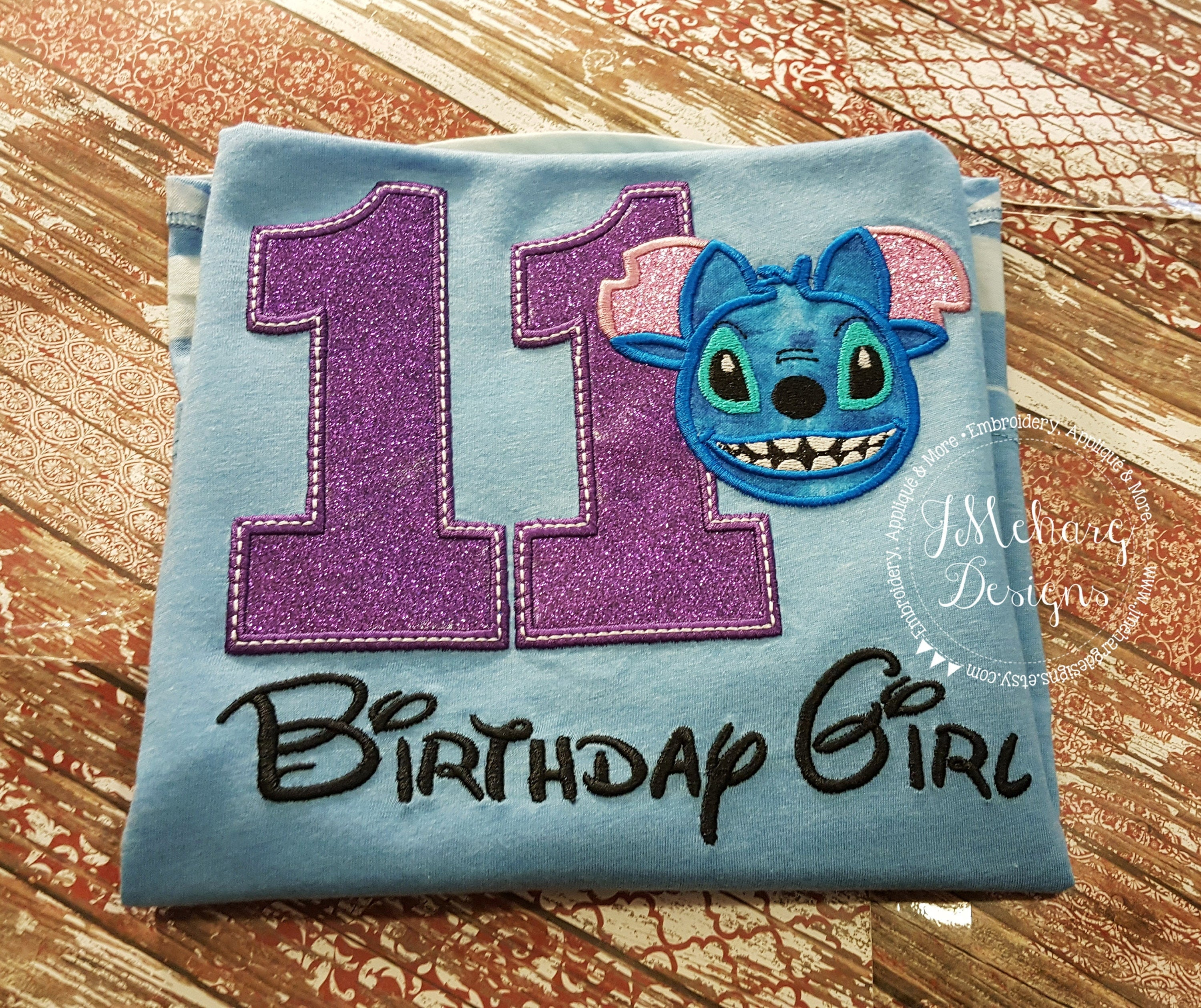 Stitch Disney-Inspired Birthday Shirt 16th 21st 40th