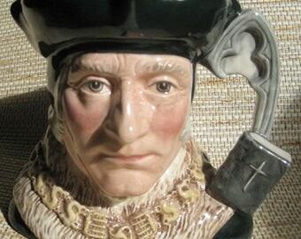 Sir Thomas More Royal Doulton Toby Mug