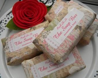 Rose Soap / Scented rose soap /