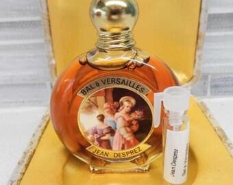 1960 - 1970 Jean Desprez Bal a Versailles Perfume Decant 1 ml.