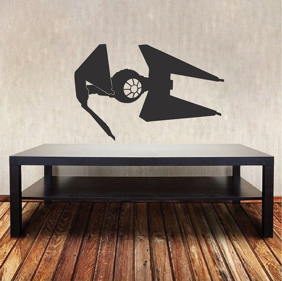 star wars wall decals tie fighter wall decal sticker wars wall decal 30090