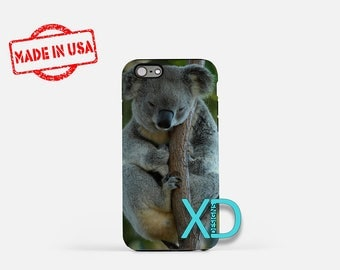 Koala iPhone Case, Animal iPhone Case, Koala iPhone 8 Case, iPhone 6s Case, iPhone 7 Case, Phone Case, iPhone X Case, SE Case Protective