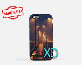 Graffiti iPhone Case, Street Lights iPhone Case, Highway iPhone 8 Case, iPhone 6s Case, iPhone 7 Case, Phone Case, iPhone X Case, SE Case
