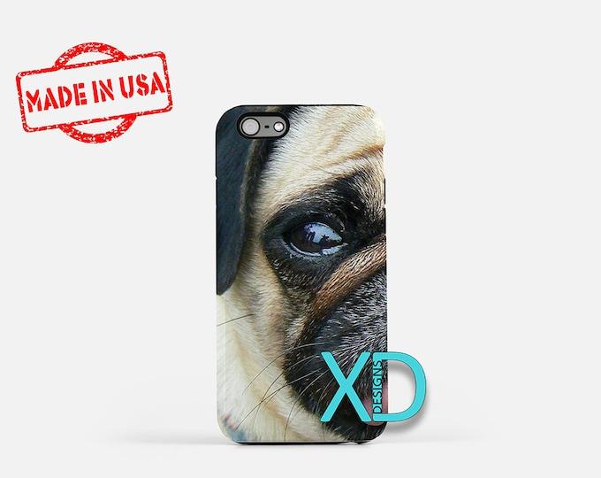 Pug iPhone Case, Dog iPhone Case, Pug iPhone 8 Case, iPhone 6s Case, iPhone 7 Case, Phone Case, iPhone X Case, SE Case