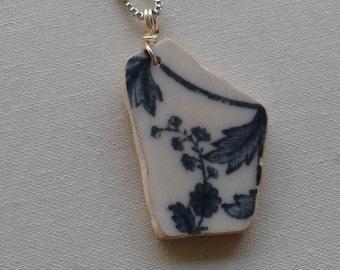 New England Sea Porcelain Necklace