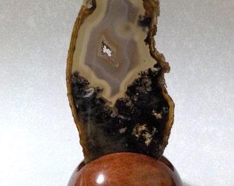 Agate Geode Slice or Slab Medium AGSM-3