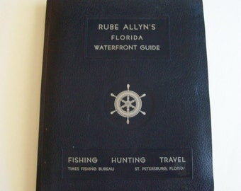 Rube Allyn Florida Waterfront Guide, Circa 1960s-Lakes and Rivers