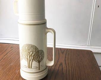 Coffee time tree vintage