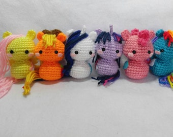 Crochet My Little Pony Amigurumi set