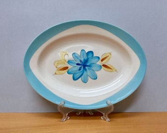 Retro oval plate, made in Japan by Superior
