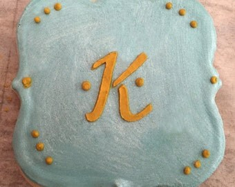 1 DOZEN Monogram Cookies