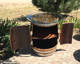 Storage/BBQ Barrel