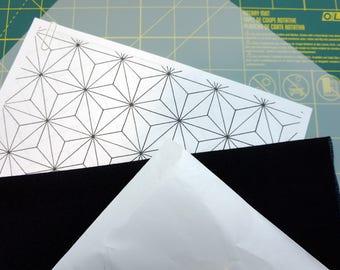 Sashiko Pattern Practice Kit