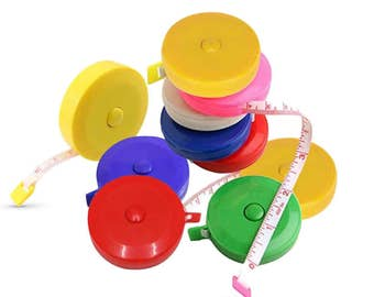 Rotary Dress Makers Tape Measure 60 inch / 150cm - Single or Box of 12 pieces