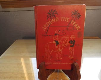 Around the Year - The Road To Safety Vintage Book