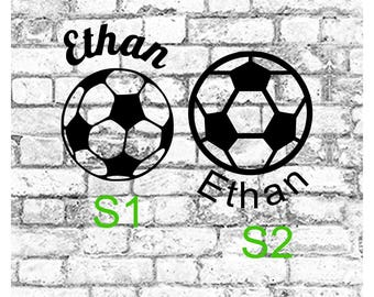 Soccer decal, Soccer YETI decal, Soccer Team Decal, Personalized Soccer Decal, Custom Soccer Decal, Vinyl Soccer Decal
