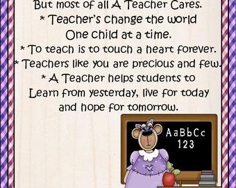 Female Teacher Lucky Penny