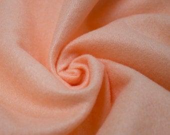 Peach Acrylic Craft Felt Fabric By the Yard Style 3009