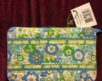 Vera Bradley Opera Wallet Clutch pattern English Meadow