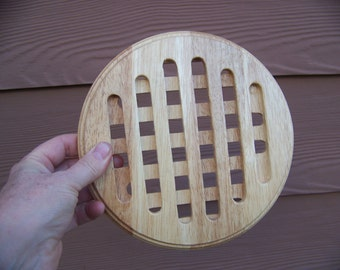 wooden hot plates