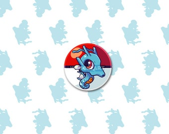 2nd Generation Dragon pokémon 38mm buttons