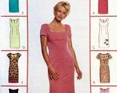 McCall's 2049, Women's Dress Pattern, 8 Great Looks, Sheath Dress, Easy Pattern, Size 18, 20, 22, Plus Size Pattern, Uncut Pattern