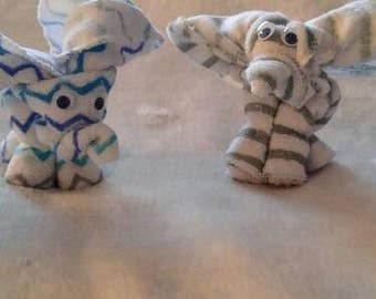 Baby Washcloth Elephant