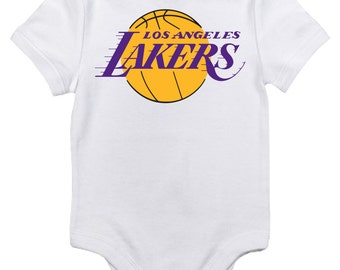 LA Lakers Onesie with last name and number