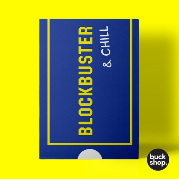 blockbuster gift card blockbuster and chill greeting card 3260